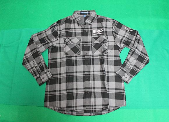ハスリン Tシャツ/LFGB Gray and Black