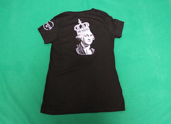 ハスリン Tシャツ レディース/LGB01 Black Ladys