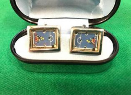 ビリヤード カフス/Billiard cuffs