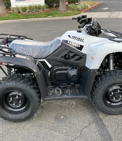 2021 Kymco MXU 450i (White)