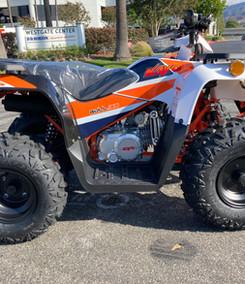 2021 Kayo Bull 125 White