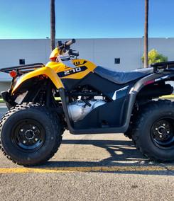 2021 Kymco MXU 270 (Yellow)