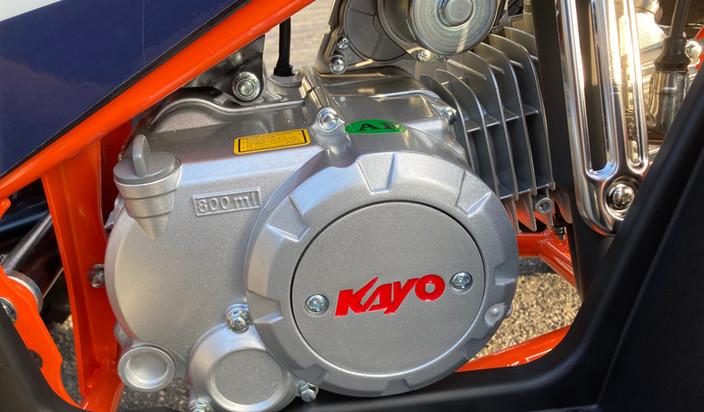 2021 Kayo Bull 125 Black