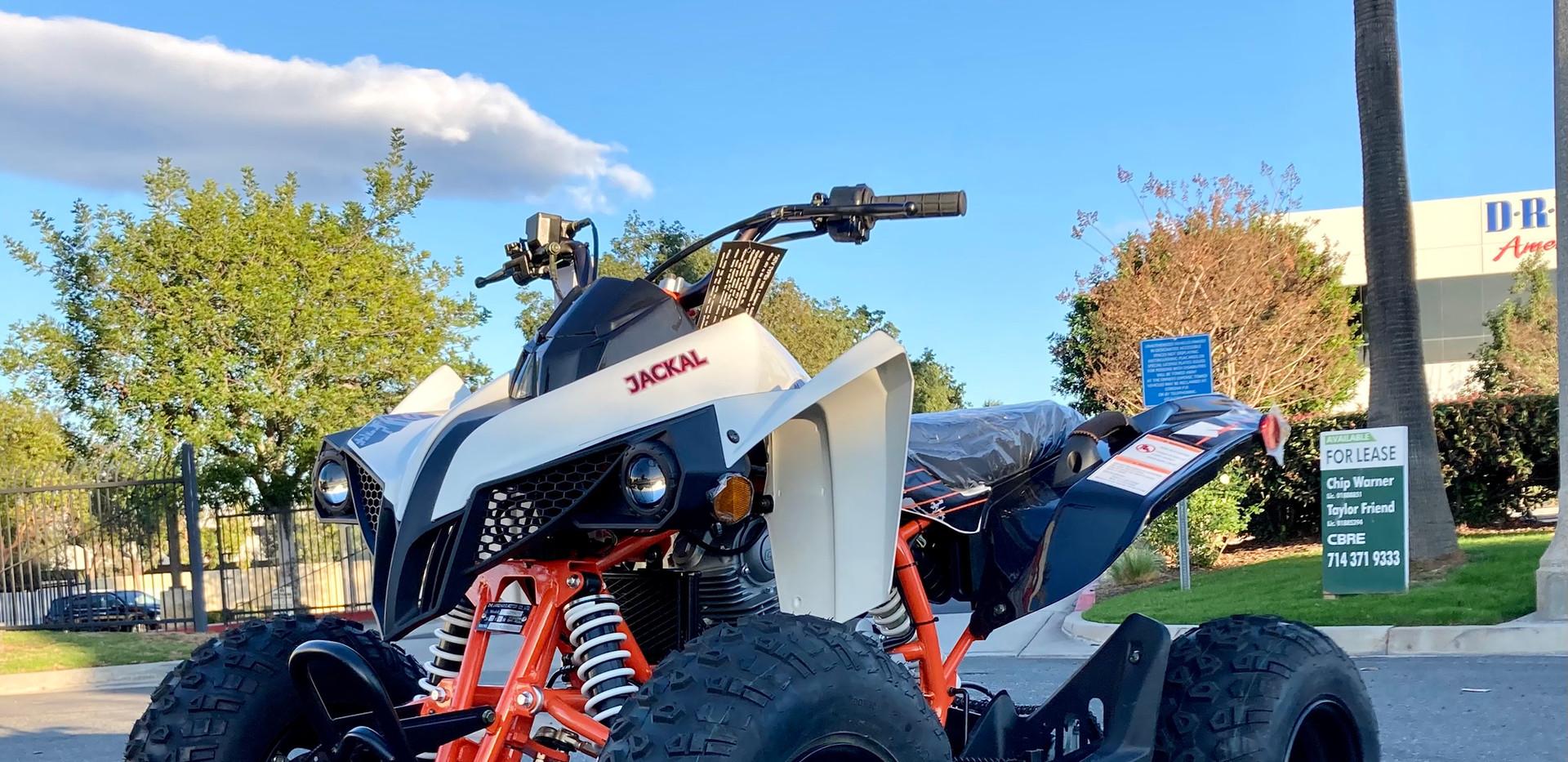 2021 Kayo Jackal 200 White