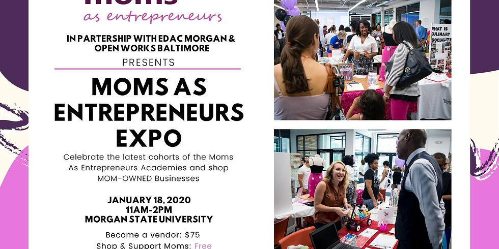 Moms As Entrepreneurs Expo