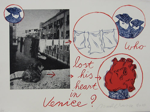 Brusse, Who lost his heart in Venice?