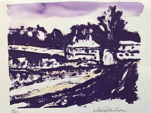 Mackendree, Paysage violet