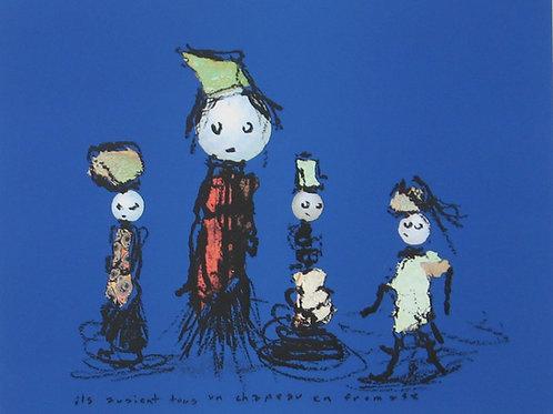 Quesniaux, Ils avaient tous un chapeau en fromage