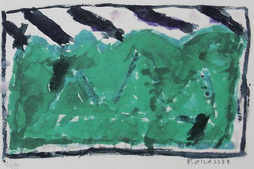 Dilasser, Paysage vert