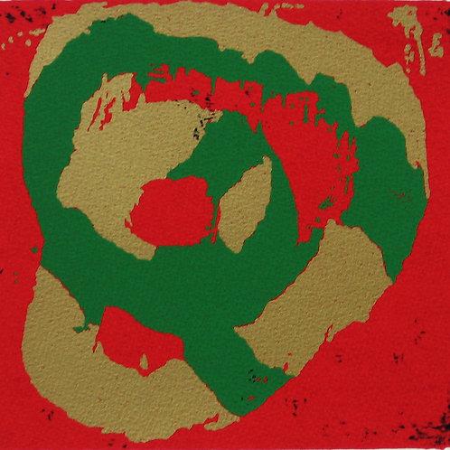Bosser, Sans titre rouge et vert