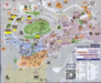 מפת מכללת צפת