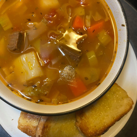 #SOUPMONTH: HEARTY CABBAGE ROLL SOUP