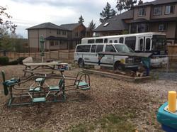Group Daycare Backyard