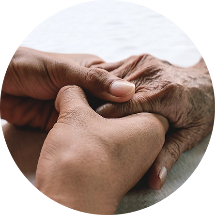 support elderly community, free complementary therapy
