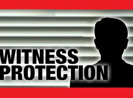Role of a witness in a case and protection of witnesses