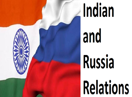 INDIAN RELATION WITH RUSSIA {USSR}