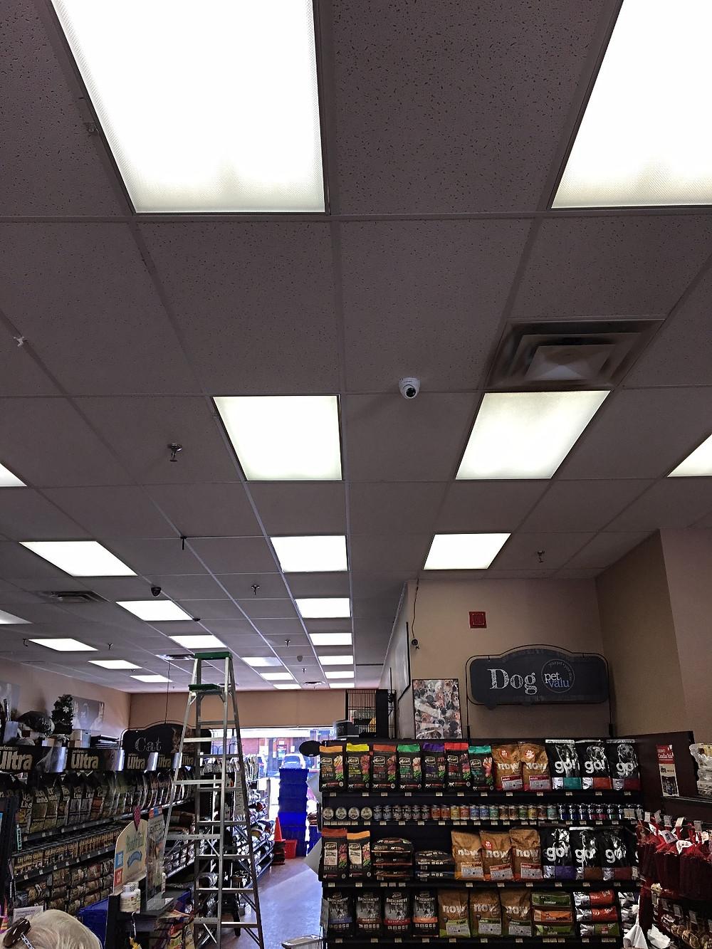 camera viewing store entrance