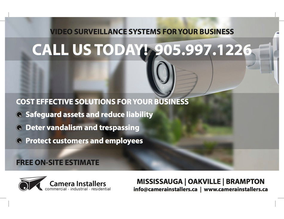 Video Surveillance Systems for your Business