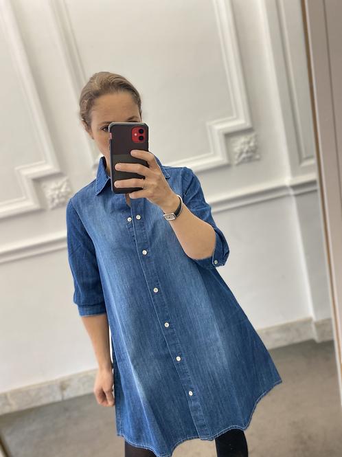 Mini-robe en jeans