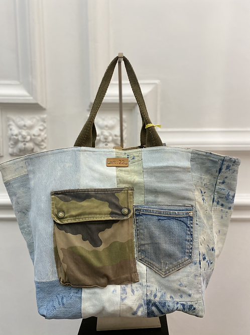 Maxi Shopping Bag LUCY JEANS