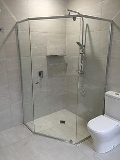 Glass Shower Screens Installation
