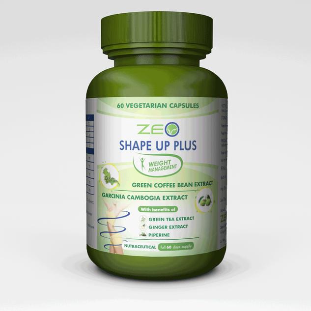 Zeo-Shape-Up-Plus-Three-Green-Bottle-One