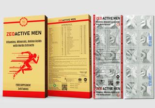 Zeo Active Men Mockup