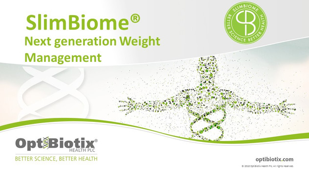 Slimbiome- A Patented Ingredient for Weight loss