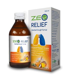 Zeo Relief Bottle Mockup