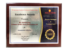 Entrepreneur of the Year, ASSOCHAM India 2018