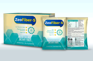 Zeo Fiber S Outer Carton & Sachets Mocku