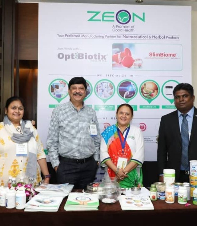 Team Zeon at 4th annual Nutrition Summit