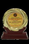 Award of Honor 2019, Mr. Suresh Garg