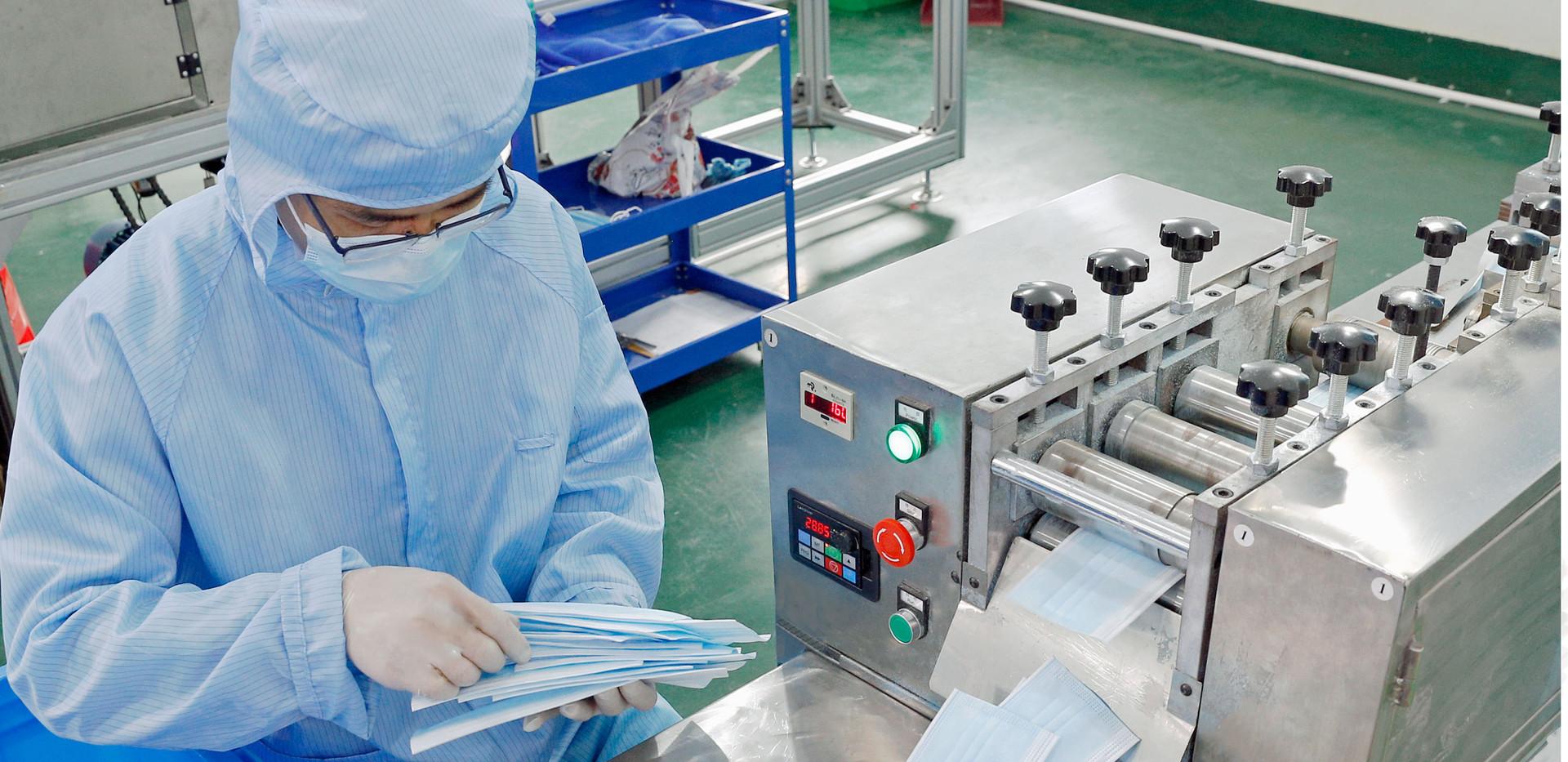 3 Ply Disposable Mask Prodution