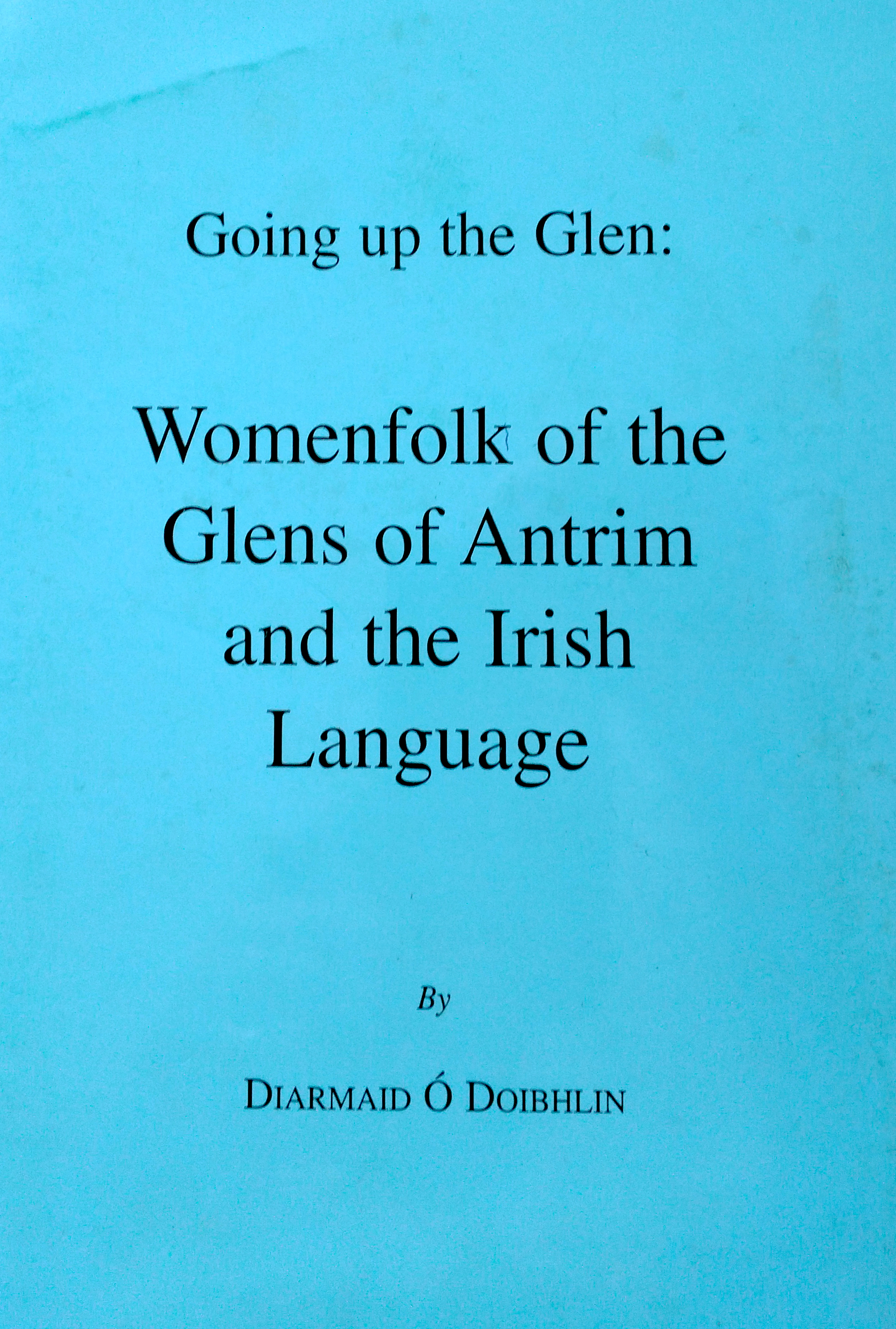Womenfolk of the Glens