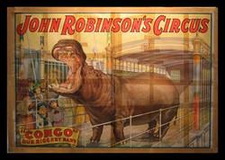 Vintage Congo Circus Poster