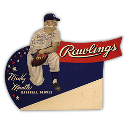 NY Yankee Legend Mickey Mantle