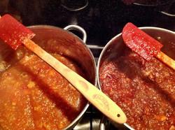 Open pan cooking