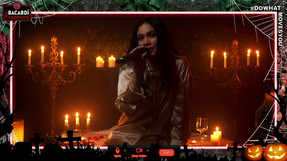 Jess Connelly Live for Bacardi Halloween Sessions