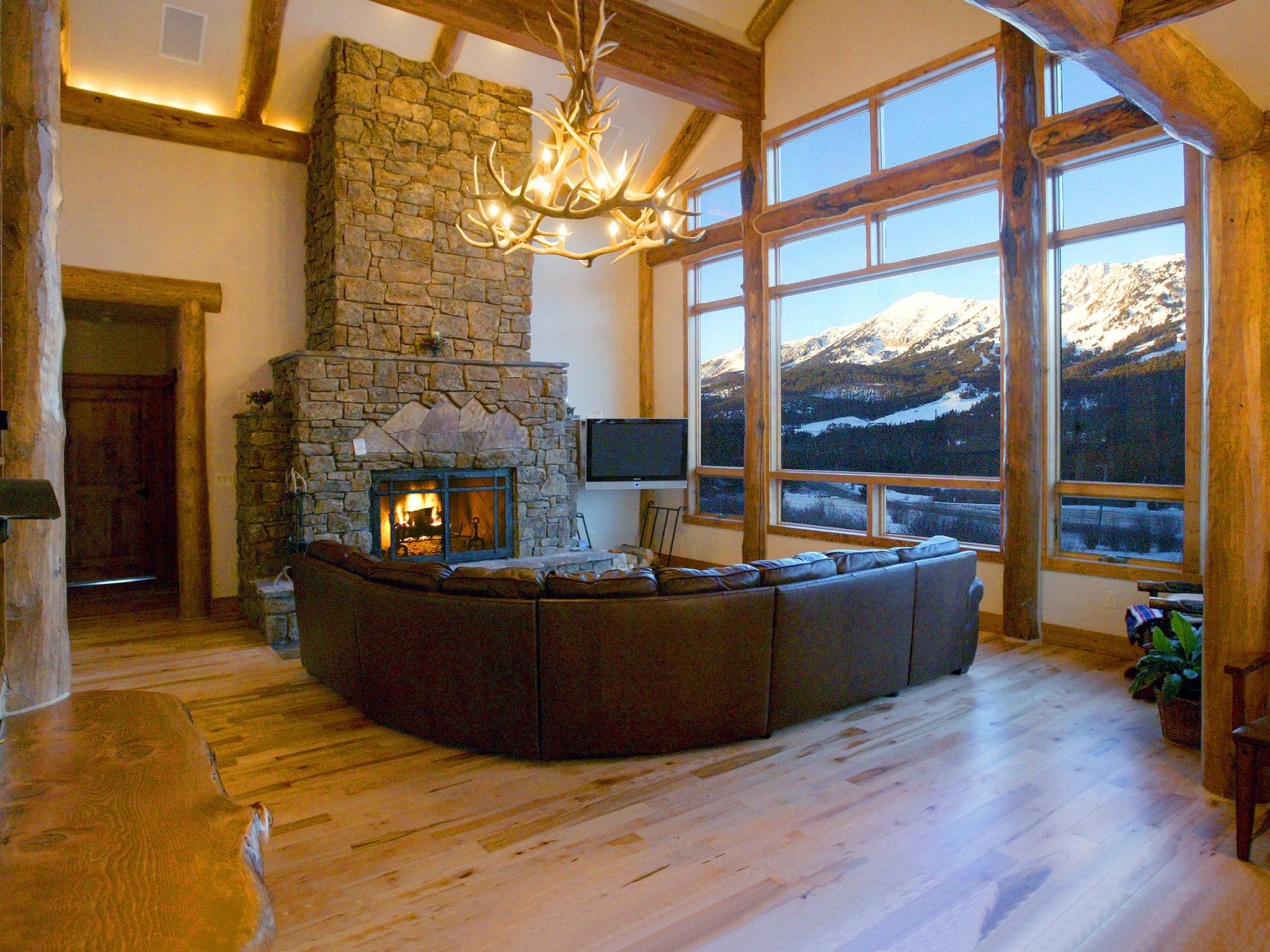Bridger Vista Lodge Luxury Log Cabin Vacation Rental