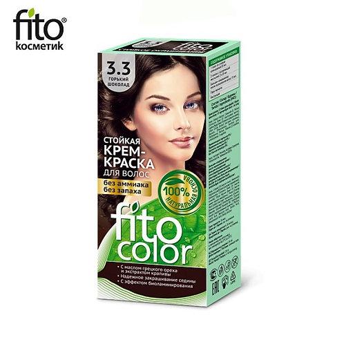 Farba do włosów 3,3 GORZKA CZEKOLADA - FITO COLOR