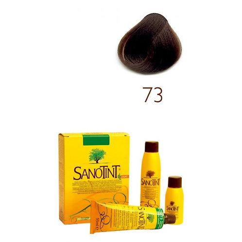 Farba do Włosów na Naturalnej Bazie 73 NATURALNY BRĄZ SANOTINT SENSITIVE