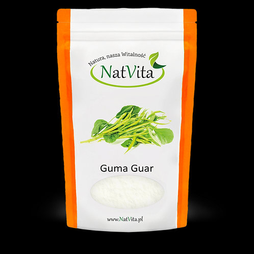 Mączka Guma Guar 200g Natvita