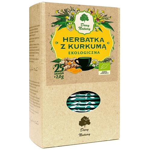 Herbatka z Kurkumą BIO (25x2g) Dary Natury