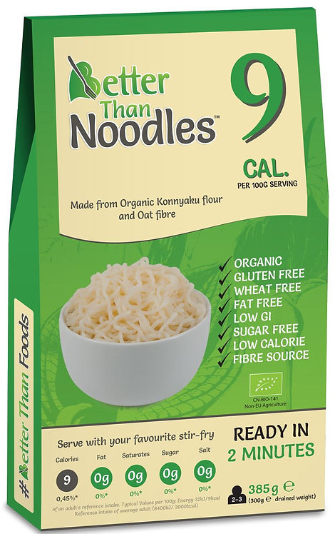 Makaron Konjac Noodle Bezglutenowy BIO 385g Better Than Foods