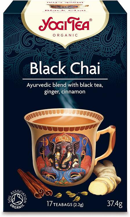 Czarny czaj BLACK CHAI Bio Yogi Tea