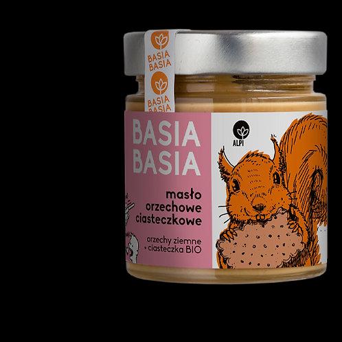 BasiaBasia Masło Orzechowe Ciasteczkowe 210g Alpi