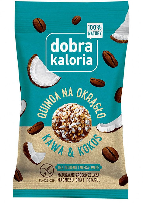 Quiona na Okrągło Kawa i Kokos 24g Dobra Kaloria