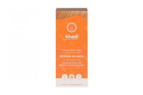 Henna Średni Blond 100g Khadi