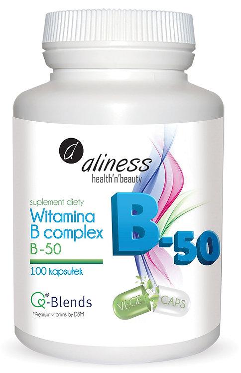 Witamina B Complex B-50 100 kaps. Aliness